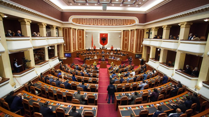 Albanian Parliament Kuvendi