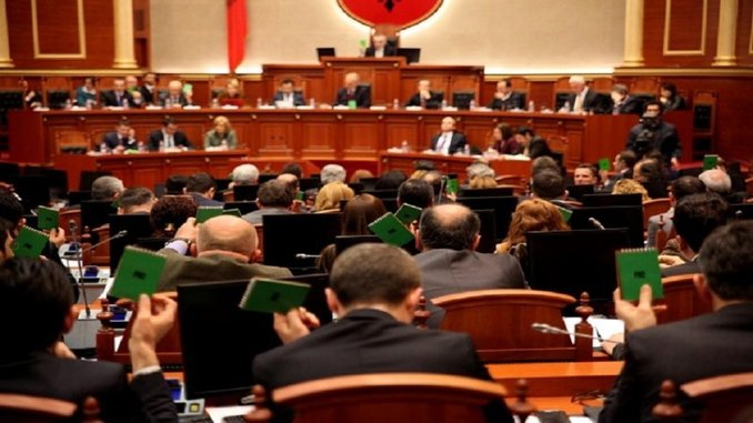 Albanian Parliament Voting Today