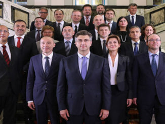 The new Croatian Government led by Plenkovic