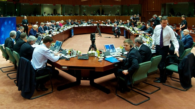 The European Council in session