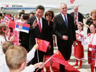 Xi Jinping Belgrade Serbia China