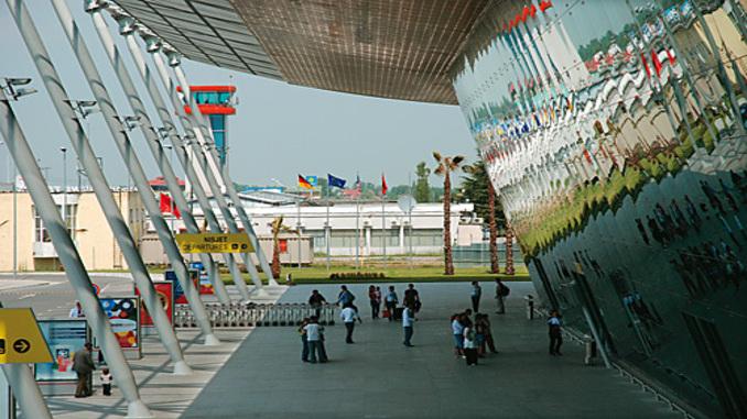 Tirana airport albania