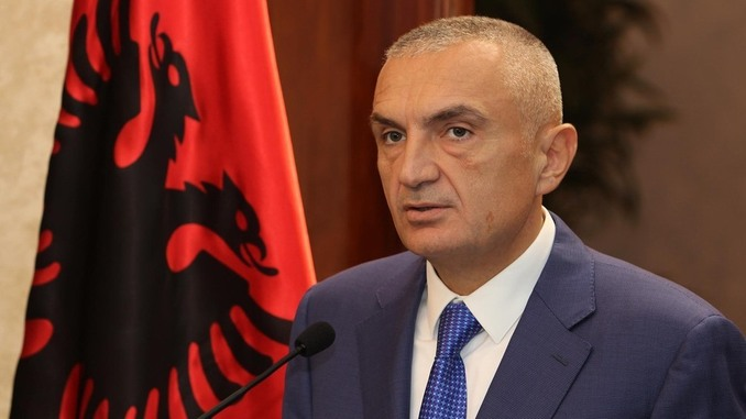 Ilir Meta Speaker of the Albanian Parliament