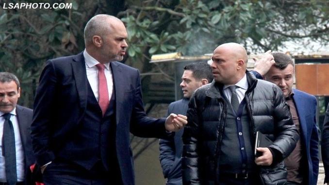Edi Rama, Ylli Manjani, Albania, Tirana, Justice, Minister,
