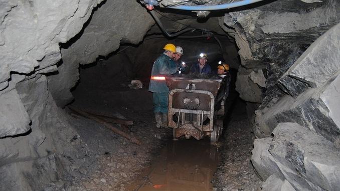 A Chrome Mine in Bulqiza, northern Albania