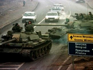 Serbian forces during the War in Kosovo 1998-1999