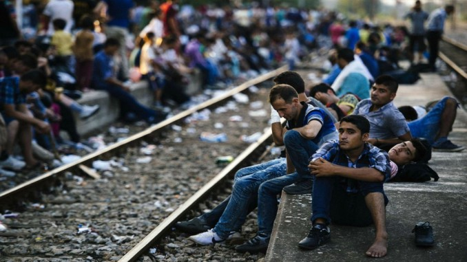 Balkans Route migrants refugeees