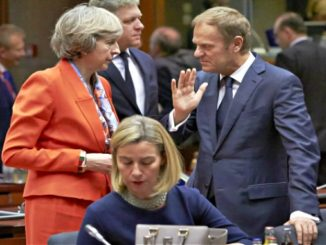 EU council, donald tusk, theresa may, mogherini
