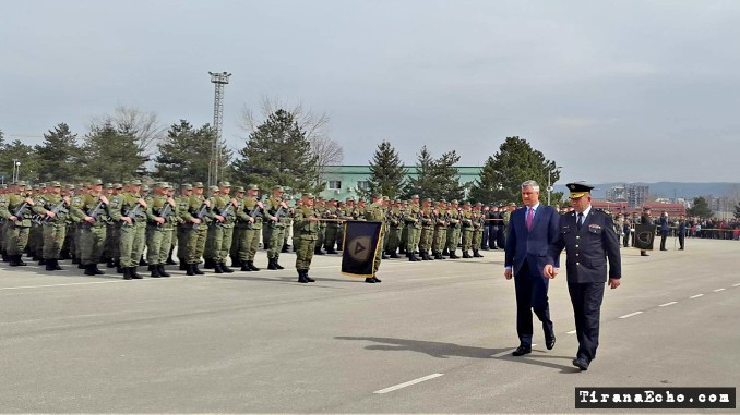 hashim, thaci, kosovo, army, fsk