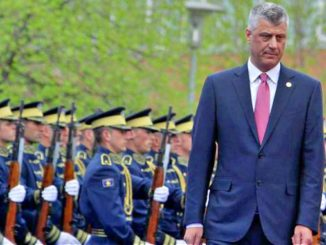 President of Kosovo Hashim Thaci