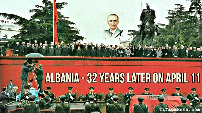 enver, hoxha, funeral, albania, communism