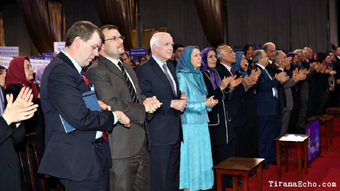 John McCain, Tirana, Albania, Iranian, Resistance, MEK