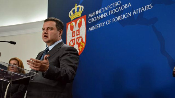Ivica Dacic - Serbia's Foreign Minister