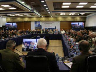NATO Military Committee in Tirana, Albania