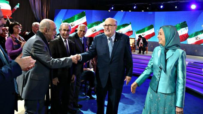 rudy giuliani iran mojahedins tirana albania