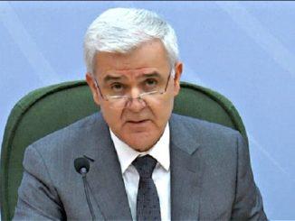 Albania's interior minister Fatmir Xhafaj