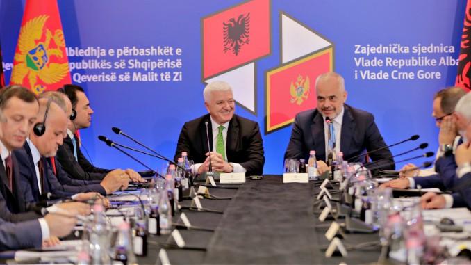 Edi Rama Duško Marković