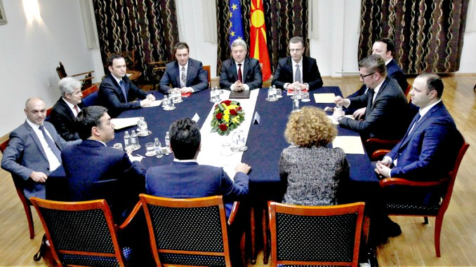 Macedonia Political Talks in Skopje end in Disarray