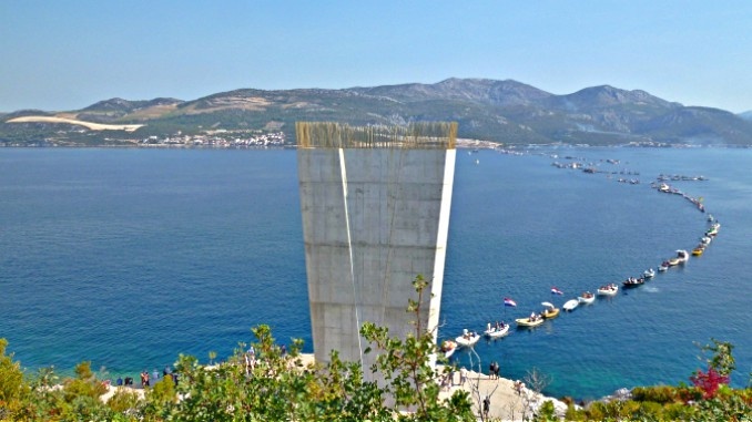 Peljesac Bridge Croatia