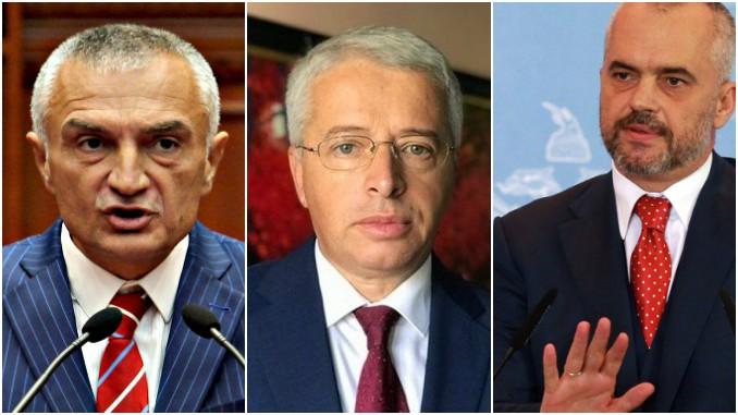 Ilir Meta, Sander Lleshi, Edi Rama