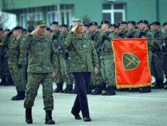 Kosovo Army Hashim Thaci Military Uniform prishtina
