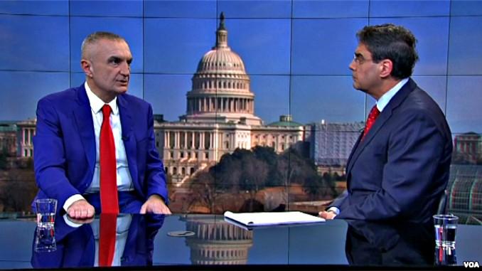 albania president ilir meta VOA washington