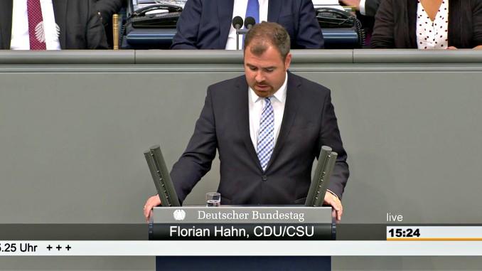 Florian Hahn CDU CSU Bundestag
