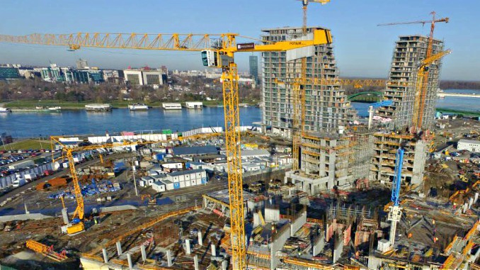 Belgrade Waterfront Construction Project