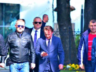 ralf gjoni parliament bodyguards tirana albania