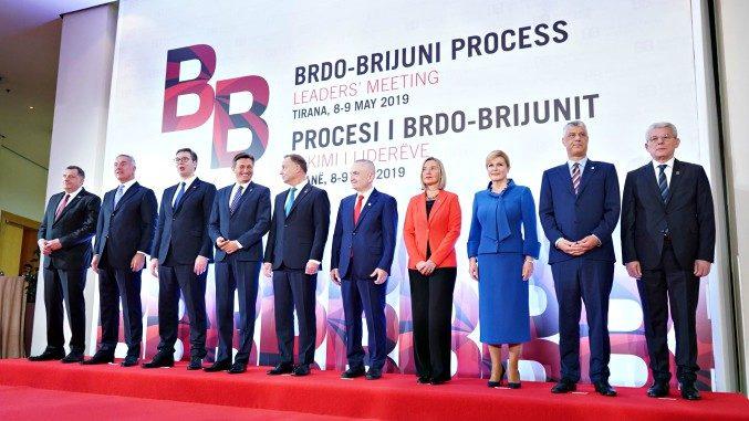 Brdo-Brijuni Summit Family Photo in Tirana
