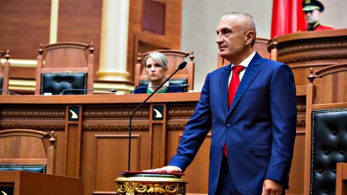 Ilir Meta President Albania Parliament