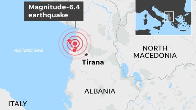 Albania_Seismic_Activity_Aftershocks2019