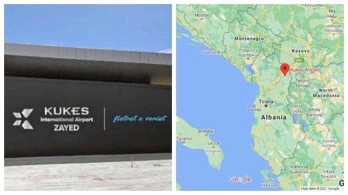 Zayed Kukes Airport Albania