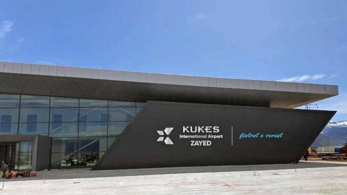 International Airport in Kukes, Albania